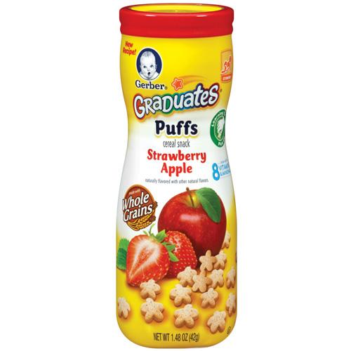 嘉寶 星星餅乾-草莓蘋果(42g)x6罐