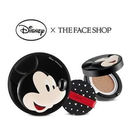 【2色選】韓國 THE FACE SHOP 迪士尼聯名 BB完美修容彈力感氣墊粉餅(米奇)