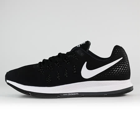 nike 男 NIKE AIR ZOOM PEGASUS 33  慢跑鞋 黑 - 831352001