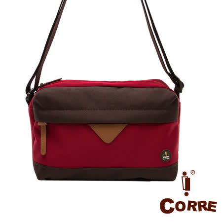 CORRE - 自我風格立體式MIT圓標尼龍側背包(小)-共3色