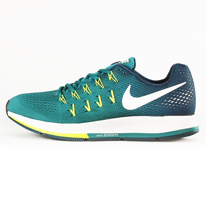 nike 男 NIKE AIR ZOOM PEGASUS 33  慢跑鞋 藍 - 831352313