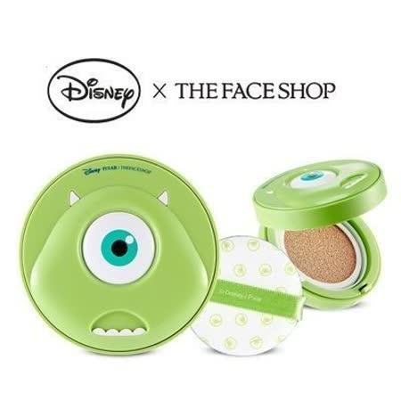 韓國 THE FACE SHOP 迪士尼聯名 CC持久妝感氣墊粉餅(大眼仔) 氣墊粉餅