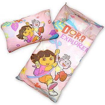 Sunnybaby 幼教兒童睡袋-朵拉 (粉)