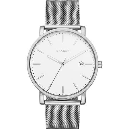 SKAGEN 北歐時尚石英米蘭腕錶-銀/40mm SKW6281