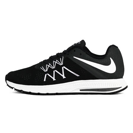 nike 男 NIKE ZOOM WINFLO 3  慢跑鞋 黑 - 831561001