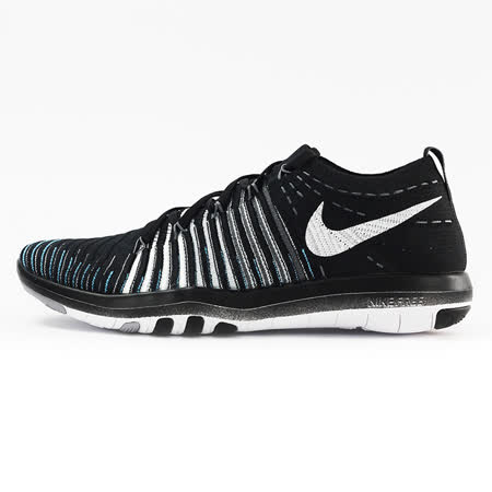 nike 女 WM NIKE FREE TRANSFORM FLYKNIT  慢跑鞋 黑 - 833410001