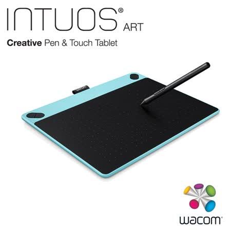 Wacom Intuos Art 藝術創意觸控繪圖板-時尚藍(中)CTH-690