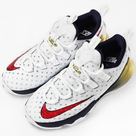 nike 女 LEBRON XIII LOW BG  籃球鞋 白 - 834347164