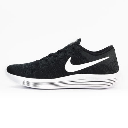 nike 男 NIKE LUNAREPIC FLYKNIT LOW  慢跑鞋 黑 - 843764002