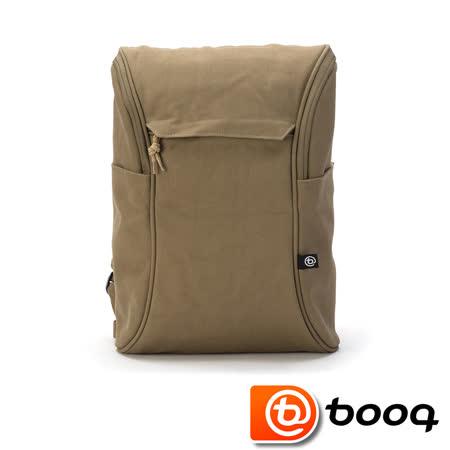 Booq Daypack 經典復古後背包 - 帆布棕