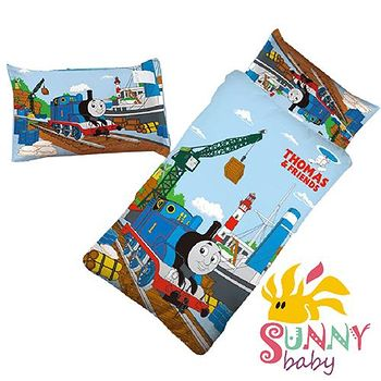 Sunnybaby 幼教兒童睡袋睡袋-湯瑪士小火車 0