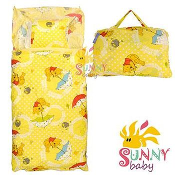 Sunnybaby 幼教兒童睡袋-小熊維尼(撐傘篇) 0