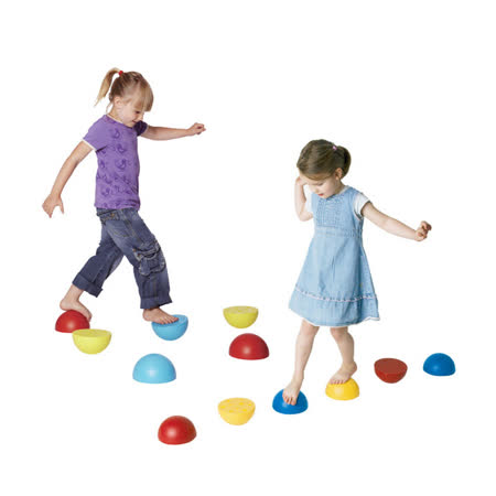 【華森葳兒童教玩具】感覺統合系列-搖滾平衡石 B2-2128
