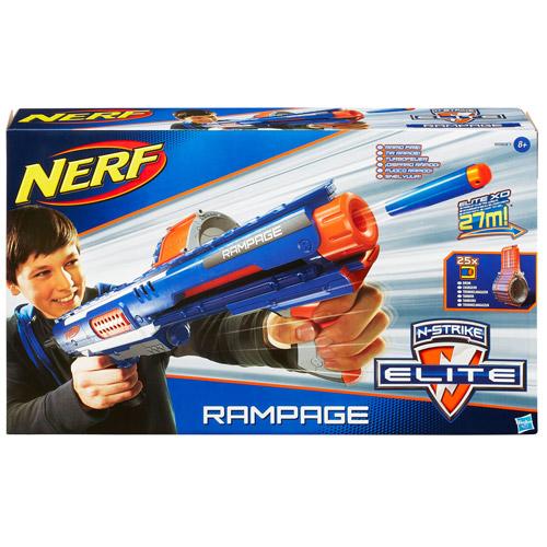 NERF ELITE 迅火連發機關槍