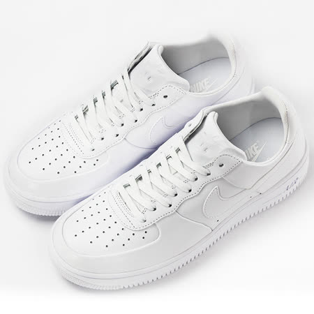nike 男 AIR FORCE 1 ULTRAFORCE LTHR  經典復古鞋 白 - 845052100