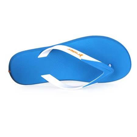 (男) Rider 運動拖鞋 -人字拖鞋 夾腳拖 海邊 海灘 沙灘 游泳 寶藍白