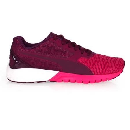 (女) PUMA IGNITE DUAL WNS 慢跑鞋- 路跑 訓練 紫桃紅