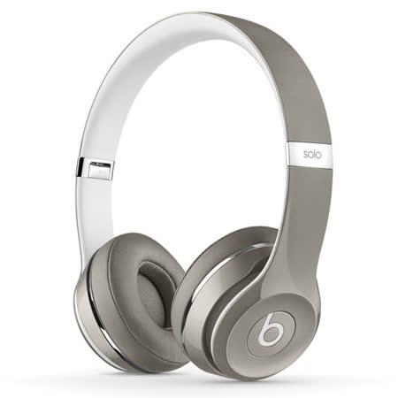 Beats Solo2 耳罩式耳機-Luxe edition(銀色)