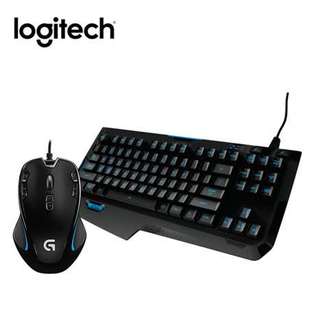 羅技 G310 ATLAS DAWN精簡型機械遊戲鍵盤+G300s 玩家級光學滑鼠