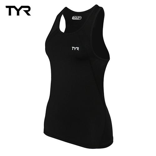 美國TYR 女款透氣排汗黑色背心 Ladies Tank 總代理