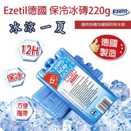 Ezetil德國保冷冰磚 220g 冷藏食物專用(220g*2/組)
