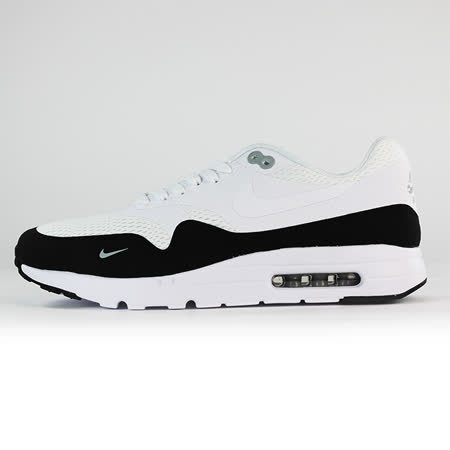 nike 男 NIKE AIR MAX 1 ULTRA ESSENTIAL  經典復古鞋 黑/白 - 819476101