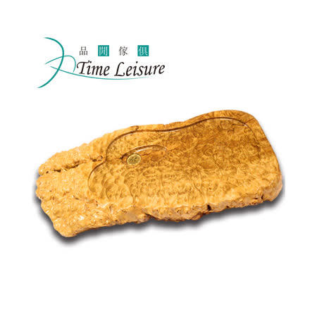 Time Leisure 品閒 黃金樟樹瘤實木茶盤(A3)70X34x7cm