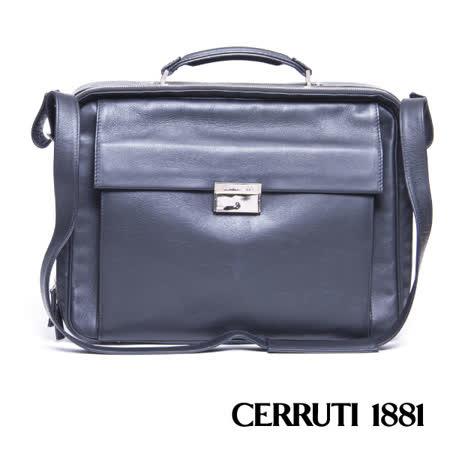 CERRUTI 1881 義大利進口 筆電型公事包 020F-F2101
