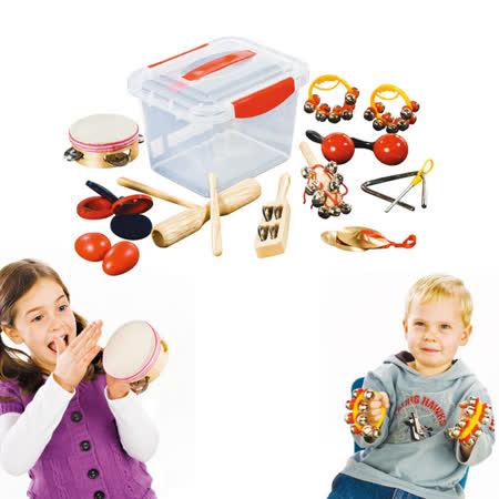 【華森葳兒童教玩具】樂器教具系列-敲鑼打鼓10件組 H3-DMM061