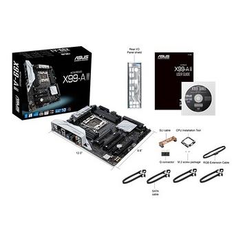 ASUS 華碩 X99-A II 主機板 / 2011-v3腳位 / X99晶片組