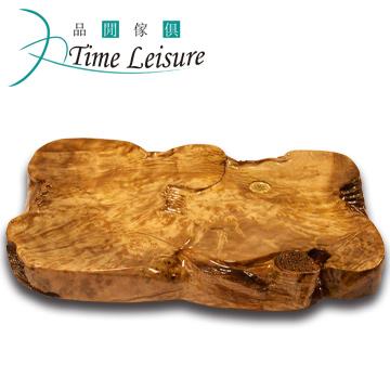 Time Leisure 品閒 黃金樟雕刻實木茶盤 A9 60x45x7cm