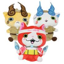 【日本 BANDAI】妖怪手錶絨毛娃娃(三款可選)