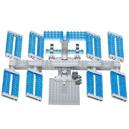 《Nano Block 迷你積木》【 太空系列 】NBH - 129 太空站