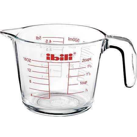 《IBILI》耐熱玻璃握柄量杯(0.5L)