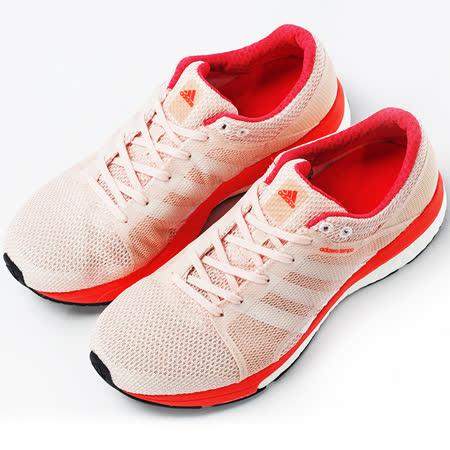 adidas 女 ADIZERO TEMPO 8 SSF W  慢跑鞋 粉 AQ6112