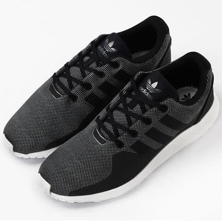 adidas FREE ZX FLUX ADV TECH  經典復古鞋 黑 S76396