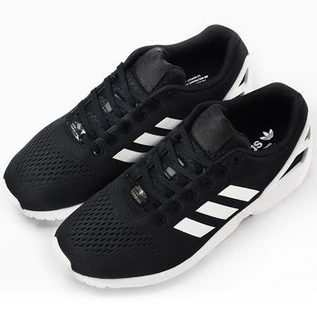 adidas 男 ZX FLUX EM  經典復古鞋 黑 S76499