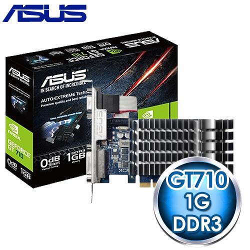 ASUS 華碩 GT710~1~SL 1GD3 PCIE 顯示卡~ 註冊四年 ~