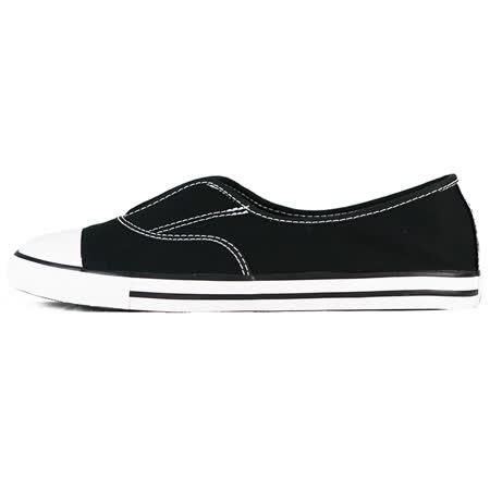 converse 女 CHUCK TAYLOR ALL STAR COVE  帆布鞋(低統) 黑 551515C