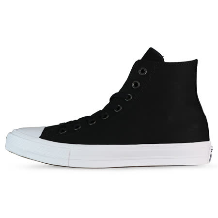 converse 男 女 膠底帆布鞋  帆布鞋(高統) 黑 150143C