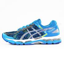 ASICS  男  GEL-KAYANO 22 LITE-SHOW  亞瑟士  慢跑鞋  藍  T5A1Q4193