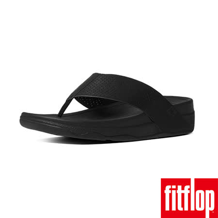FitFlop™_(男款)SURFER™ PERF LEATHER-黑色