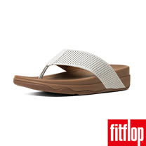 FitFlop™_(男款)SURFER™ PERF LEATHER-都會白