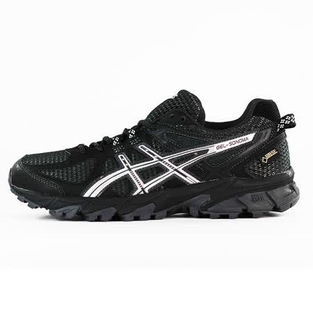 ASICS  女  GEL-SONOMA G-TX  亞瑟士  慢跑鞋  黑  T5N7N9093