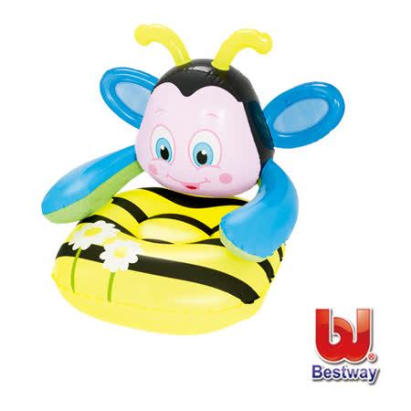 購犀利-Bestway  Q版蜜蜂兒童充氣沙發
