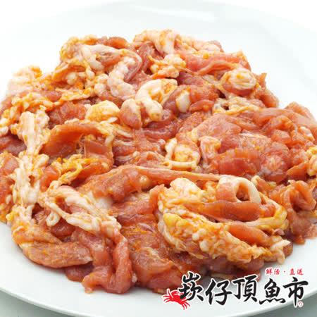 【崁仔頂魚市】韓式醃漬豬五花8份組(500g/盒)