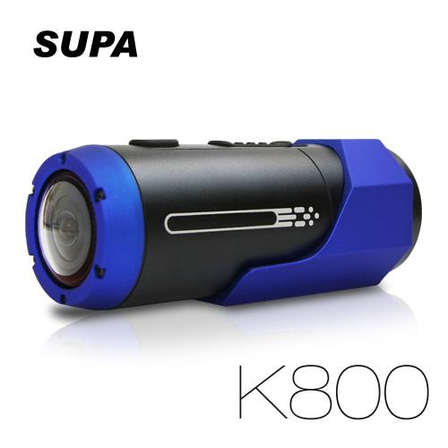 速霸K800機車 行車紀錄器 雙鏡頭 超廣角150度 戶外防水型 高畫質1080P 極限運動 機車行車記錄器(單機)