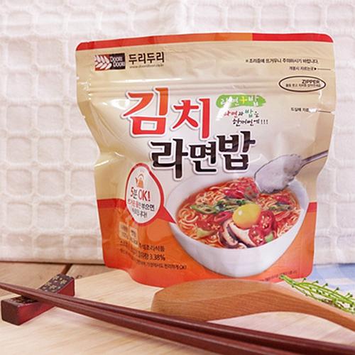 【DOORI DOORI】泡飯+泡麵~韓式泡菜口味