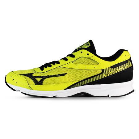 Mizuno 男 路跑鞋 RUSH UP 2 美津濃 慢跑鞋 黃 J1GA168309