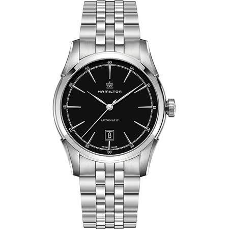 【私心大推】gohappy 線上快樂購Hamilton CLASSIC 紳士大三針機械腕錶-黑x銀/24mm H42415031心得大 直 愛 買 美食
